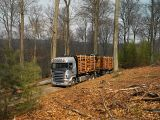 05564-020 Scania R 470 6x4 Highline timber truck with trailer